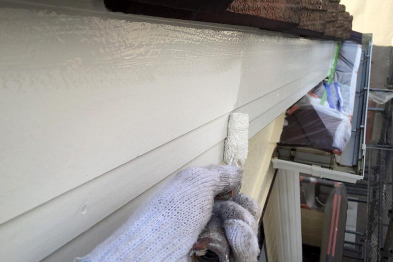 外壁塗装-ツートンカラー仕上げ