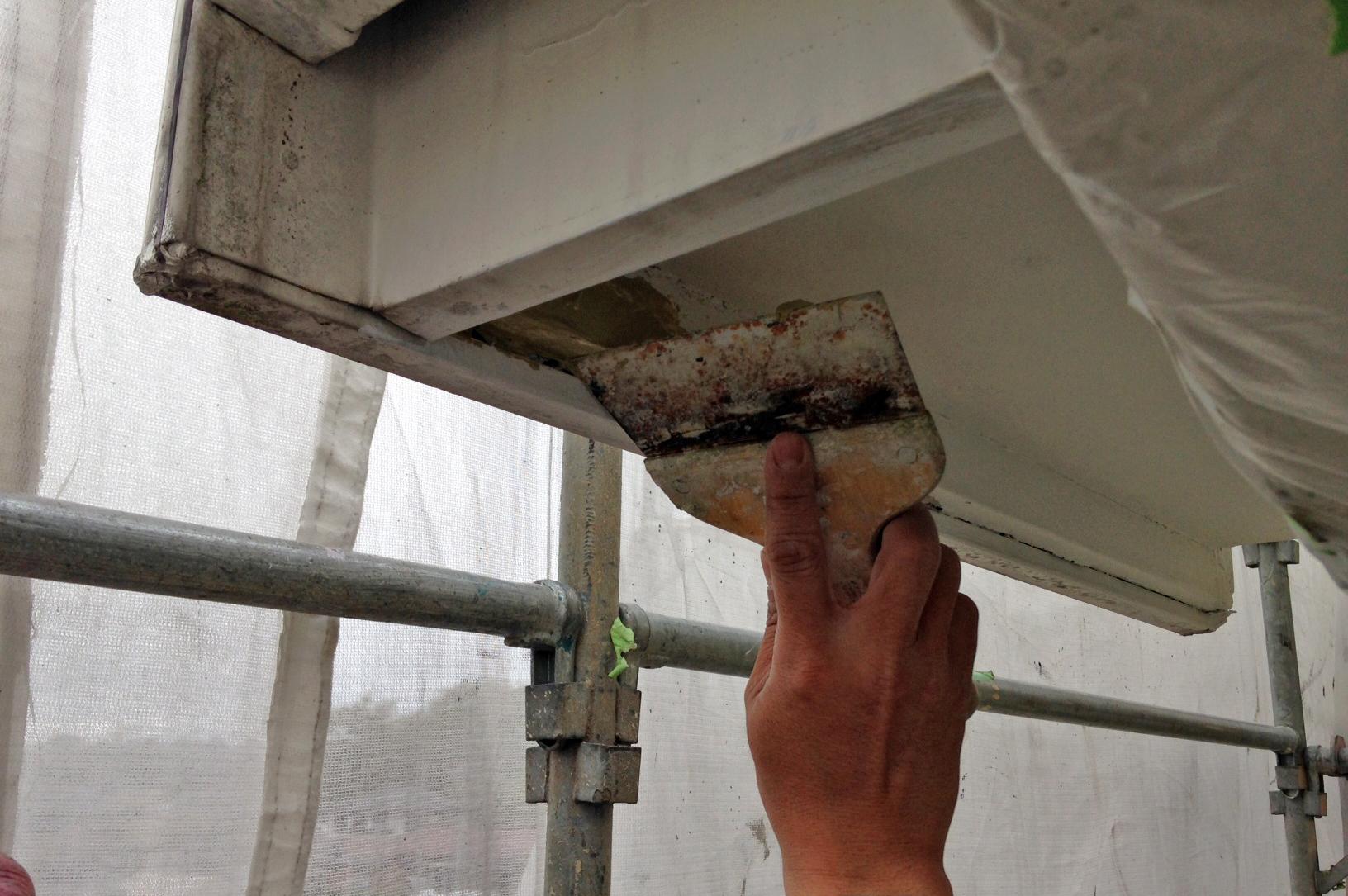 高遮熱屋根塗装、モルタル外壁塗装