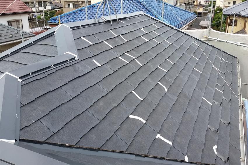 屋根/遮熱塗装、モルタル外壁/ジョリパット塗装、ベランダ/防水トップコート