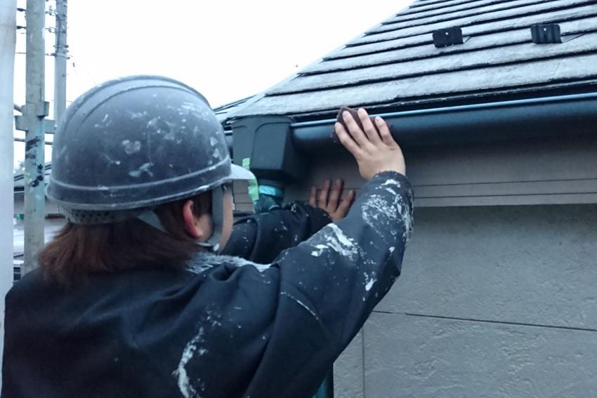 屋根/遮熱塗装&外壁/UVプロテクト・クリアー塗装