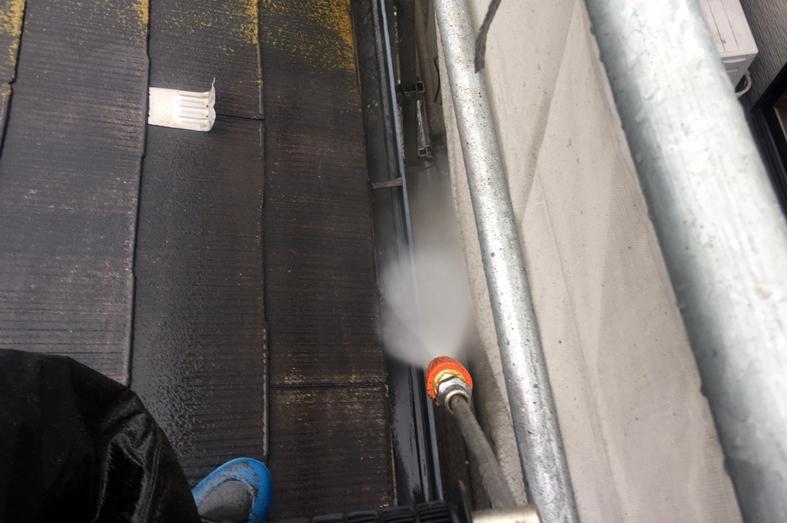 高遮熱屋根塗装、外壁塗装、ベランダ防水塗装、コーキング打替