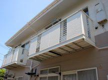 さいたま市西区のアパートで屋根塗装と外壁塗装の施工例