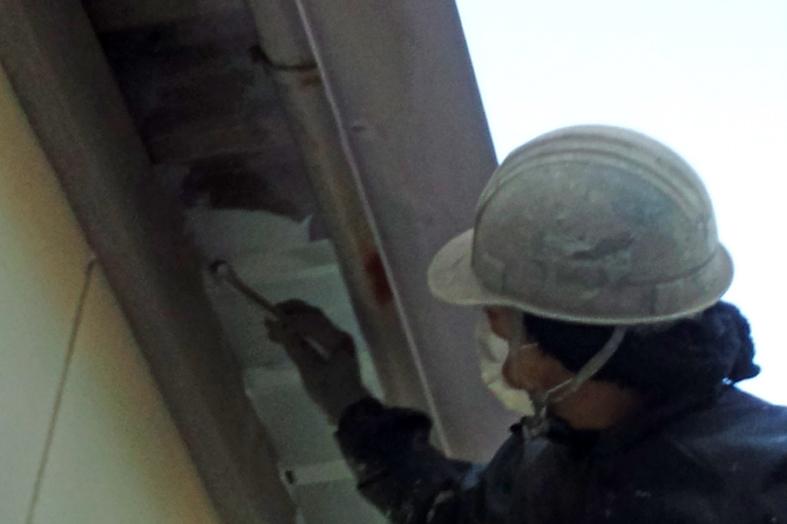 アパートの屋根・外壁・鉄骨階段塗装