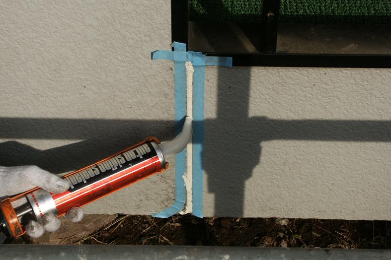 アパート-スレート屋根塗装・サイディング外壁塗装、コーキング打替