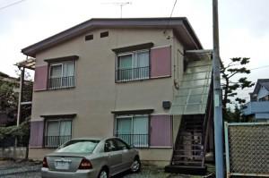 さいたま市、アパートの屋根塗装、外壁塗装