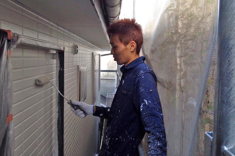 高遮熱屋根塗装・外壁塗装、ベランダ防水トップコート