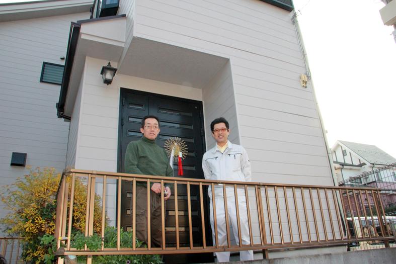 さいたま市緑区 K様  屋根高遮熱塗装、外壁塗装、コーキング打替、ベランダ防水塗装