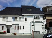 さいたま市 店舗兼住宅-屋根塗装、外壁塗装、ベランダ防水工