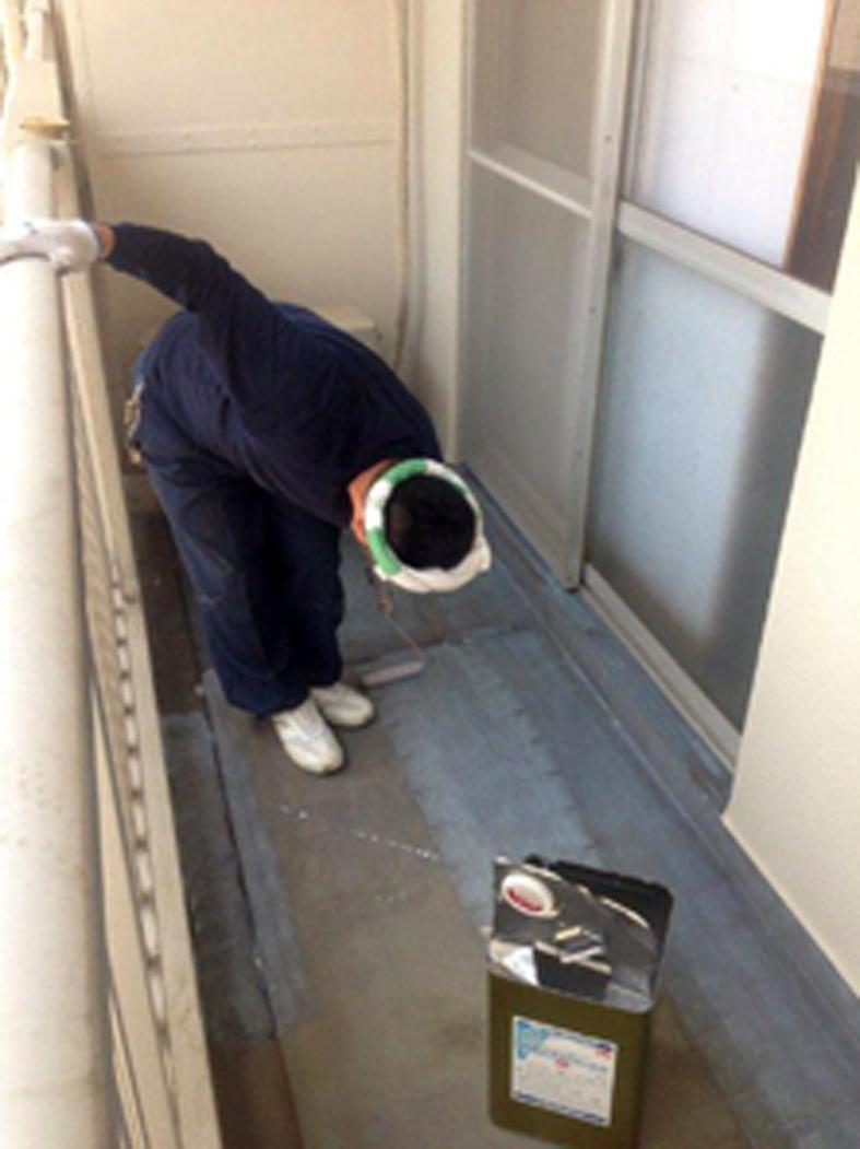 マンション/鉄筋コンクリート外壁塗装、爆裂補修、部分防水、コーキング打替