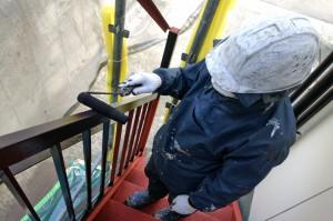 鉄部塗装と樋塗装-さいたま市