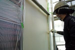 さいたま市、アパート(屋根塗装、外壁塗装、鉄骨階段塗装、コーキング工事)