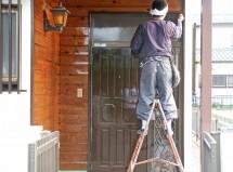 木部塗装、伊奈町