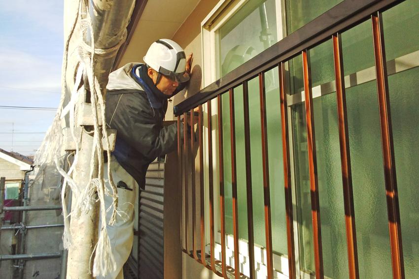 窓-手摺設置