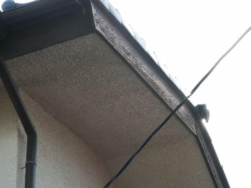 上尾市で、破風・鼻隠・幕板の板金補修