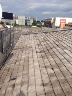 平板スレート屋根塗装