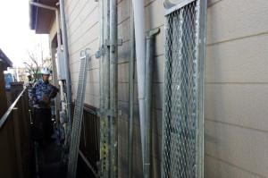 足場設置-さいたま市 外壁塗装