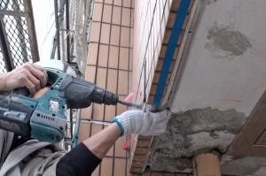 タイル修復施工例-さいたま市