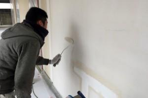 外壁の下塗-さいたま市、マンションの大規模修繕工事