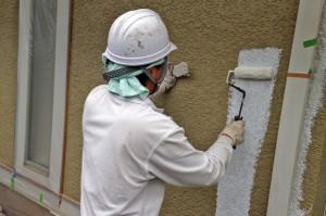 塗装工事が一気に進捗-さいたま市S様邸(高遮熱屋根塗装、外壁塗装)