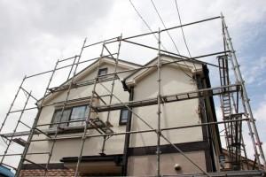 屋根塗装・外壁塗装が完了-S様邸の工事