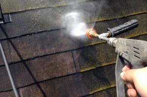 高圧洗浄-塗装工事
