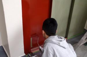 エレベーター塗装-さいたま市