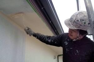 さいたま市大宮区-軒天塗装、外壁塗装