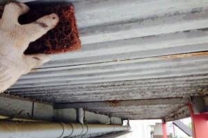 鉄骨階段塗装-さいたま市見沼区Mアパート