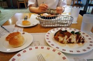 パンのレストランで夕食-さいたま市北区B店