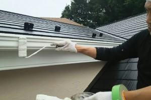屋根塗装と外壁塗装が完了-さいたま市浦和区、U様邸