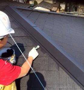 高遮熱屋根塗装と外壁塗装が完了-さいたま市緑区M様邸