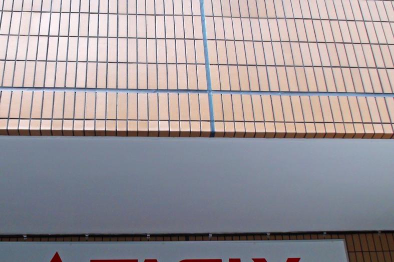 外壁タイルクリーニング&クリア塗装
