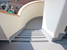 マンション-階段・通路のシート防水