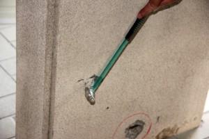 塗装、大規模修繕工事-さいたま市北区、Fマンション、打診検査