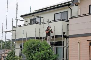 塗装工事完了-さいたま市西区H様邸