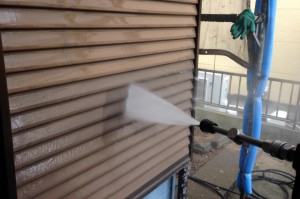 高圧洗浄-さいたま市西区、U様邸の塗装工事