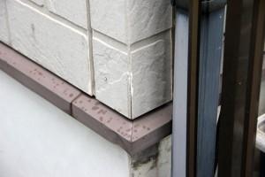塗装工事のための現状調査-さいたま市南区O様邸