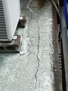 塗装工事の再現状調査-さいたま市北区、Kアパート