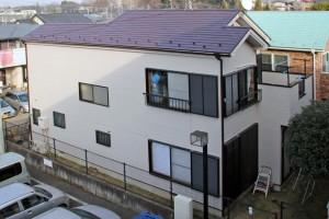 さいたま市緑区のK様邸で、屋根塗装、外壁塗装の完成写真