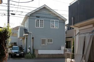外壁塗装、屋根塗装のため、駐車場-さいたま市北区S様邸