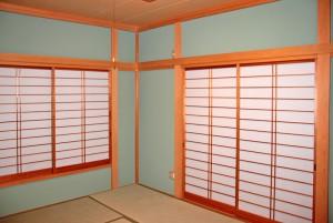 京壁塗装が完了-さいたま市大宮区、N様邸