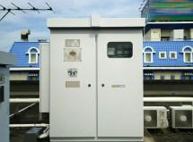 高圧受電用設備の塗装-さいたま市岩槻区