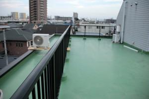 さいたま市北区、Nビルの屋上防水トップコートの見積完了
