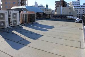 屋上防水と外壁塗装のための現状調査-さいたま市南区Y病院様