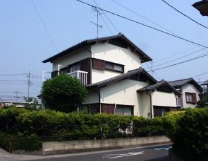 近隣挨拶-伊奈町、F様邸(外壁塗装、クラック補修、木部塗装)