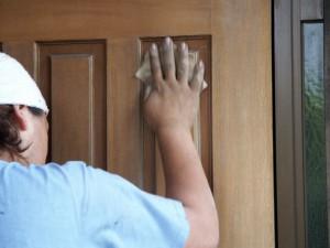 戸袋塗装-伊奈町、F様邸(外壁塗装、クラック補修、木部塗装)