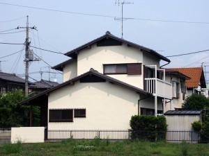 最終写真撮影-伊奈町、F様邸(外壁塗装、クラック補修、木部塗装)