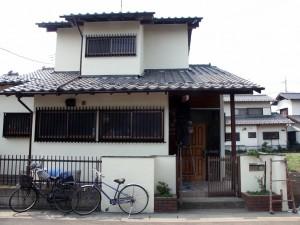 完工-伊奈町、F様邸(外壁塗装、クラック補修、木部塗装)