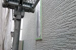 塗装のための養生-さいたま市南区、KA様(外壁塗装、屋根塗装、コーキング打替)