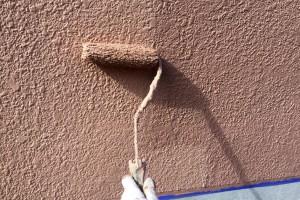 塀の塗装と、コーキングの打替-さいたま市南区H様邸(外壁塗装、ベランダ防水塗装)